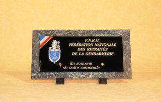 Plaques funéraires FNRG