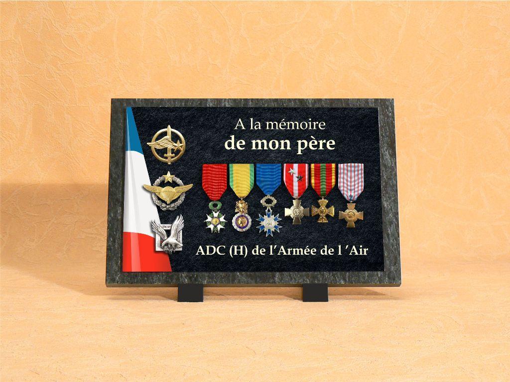 Plaques funéraires personnalisées pour anciens combattants