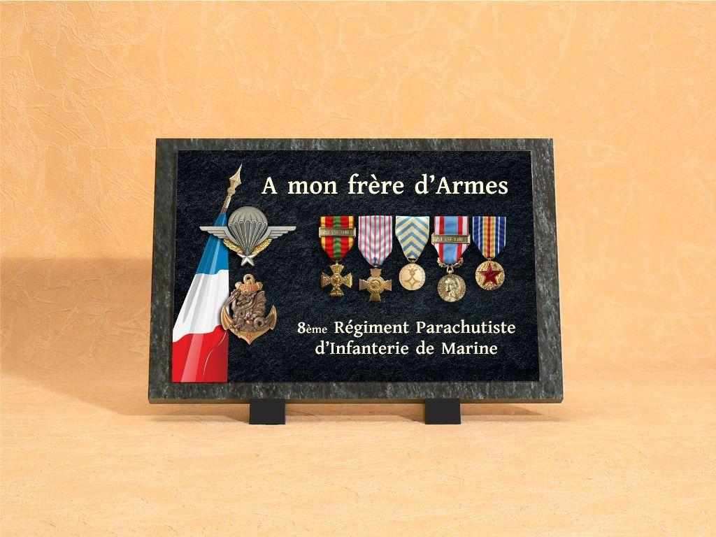 Plaques funéraires personnalisées anciens combattants