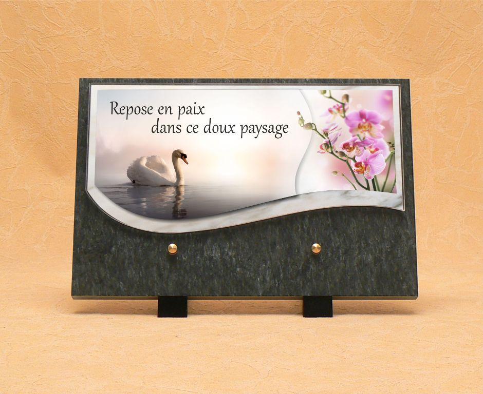Plaque fun raire boutique en ligne s rigraphie wetter saint louis - Plaque funeraire originale ...